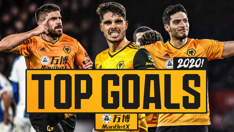 Best Wolves goals of 2020! | Jimenez, Neto, Neves, Podence, Perry, Hubner