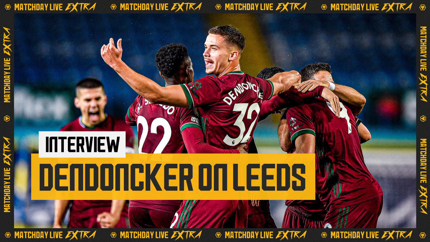 Leander Dendoncker on Leeds United win | Matchday Live Extra Interview