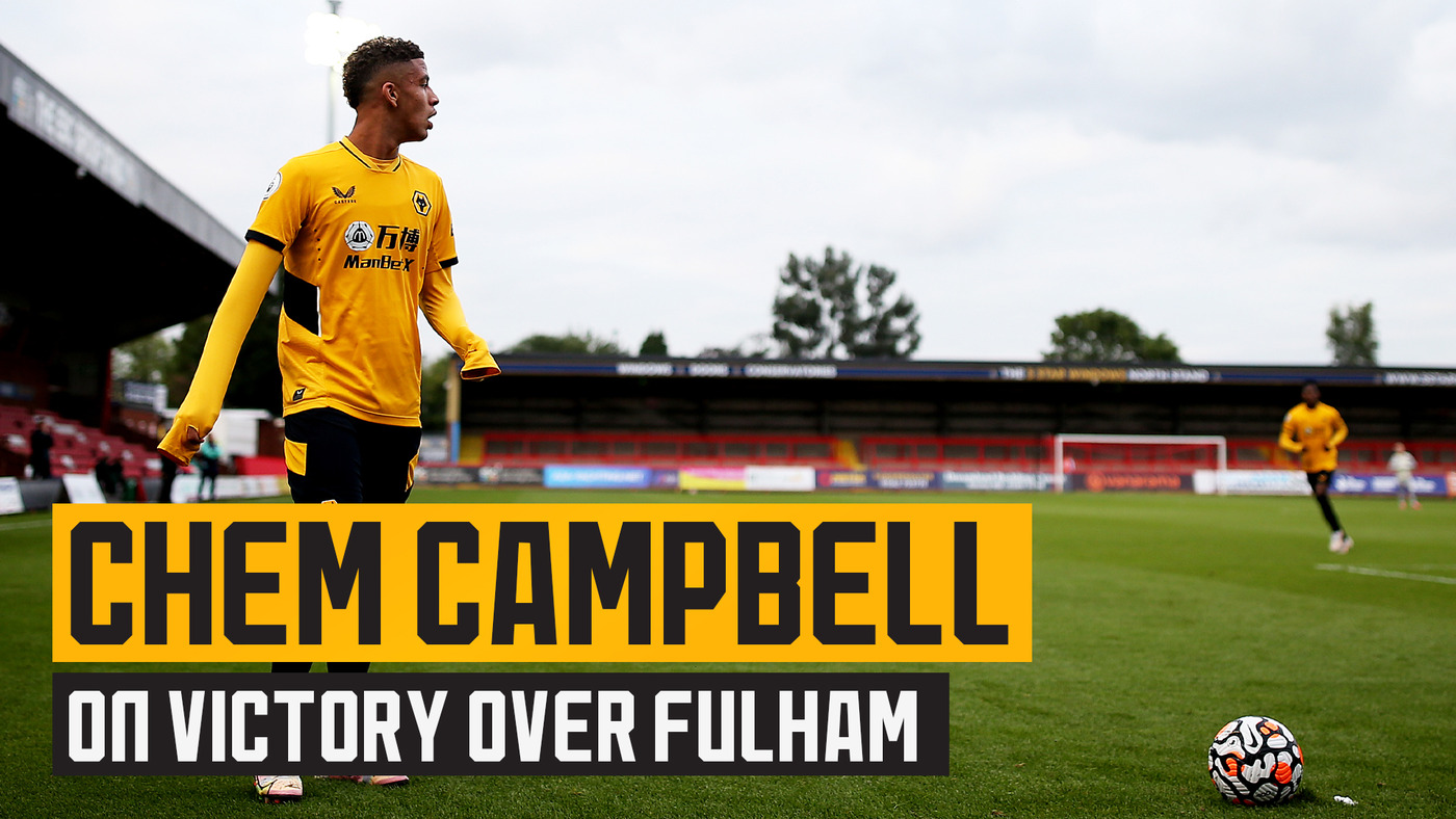 Campbell reflects on his goal & assist in the win against Fulham