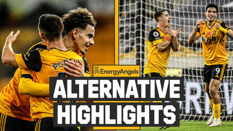 AÏT-NOURI DEBUT DELIGHT! Wolves 2-0 Crystal Palace | Alternative Highlights