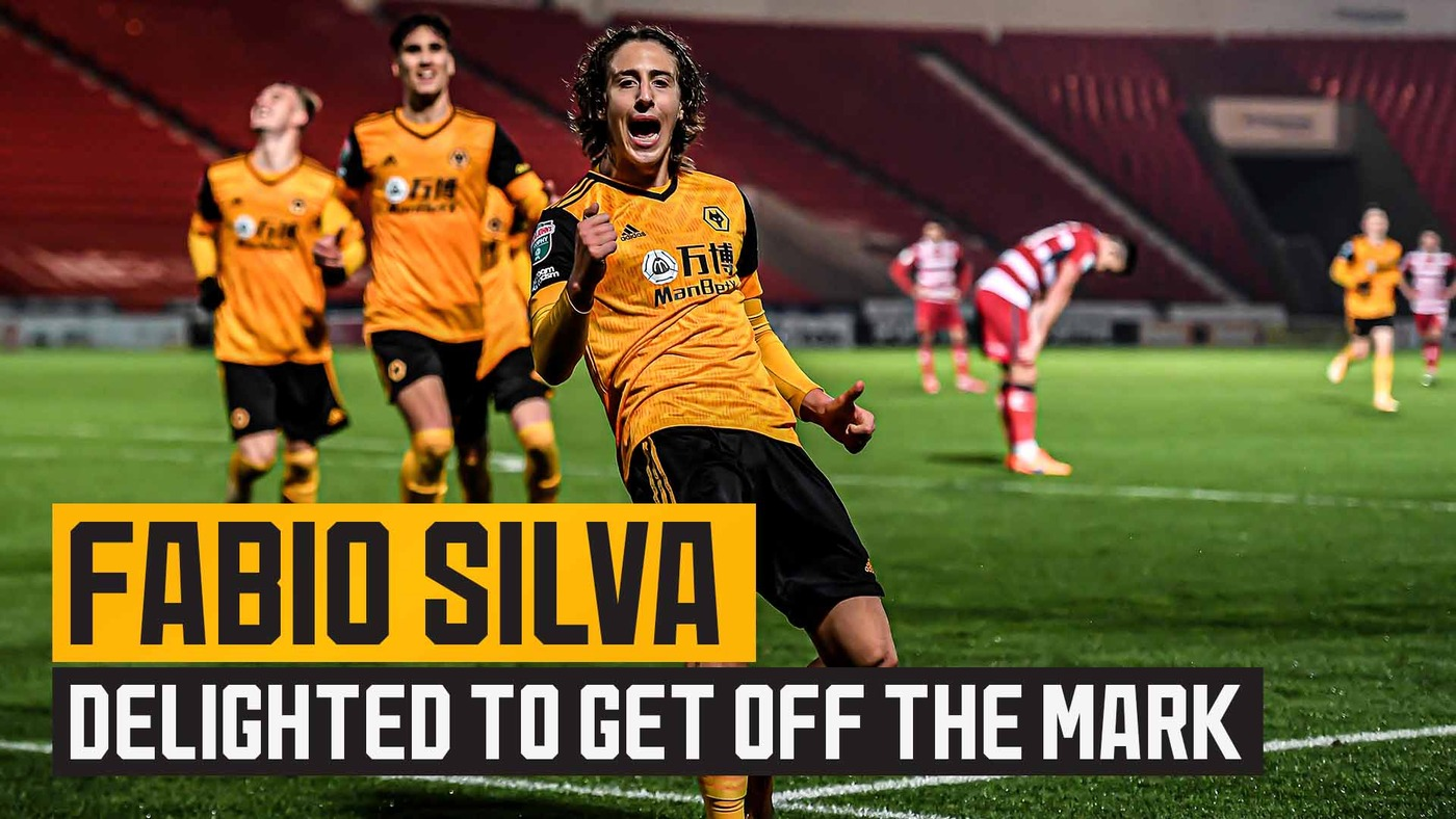 Fabio Silva on matchwinning performance for the under-21s