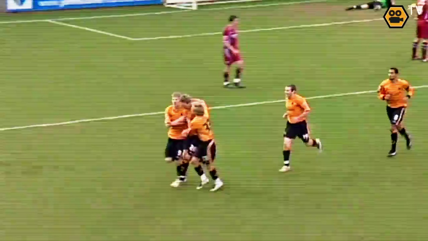 OLD GOLD: Scunthorpe 0-2 Wolves