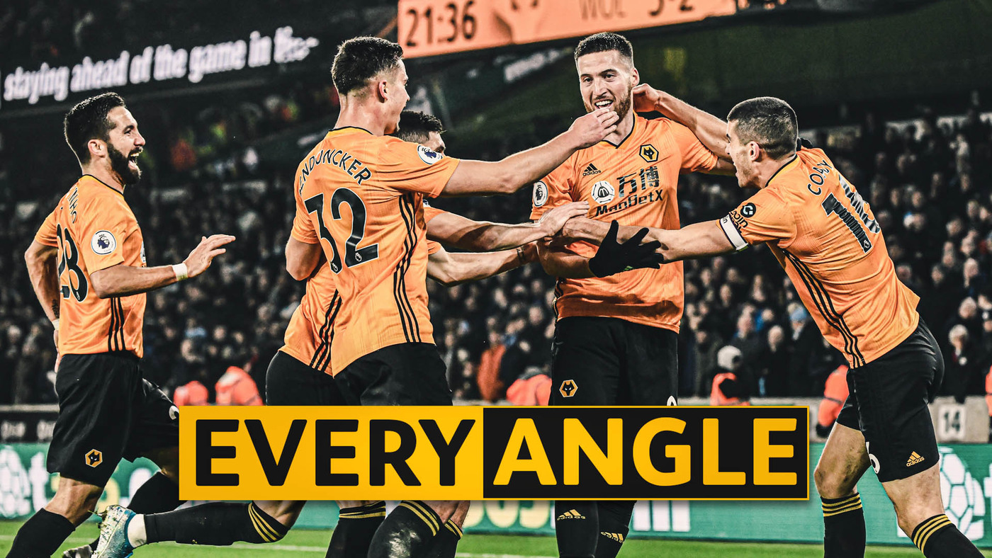 Every angle of Matt Doherty's last-minute winner against Man City!