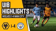 U18's Highlights | Wolves 1-4 Manchester City - City have too much for injury stricken Wolves