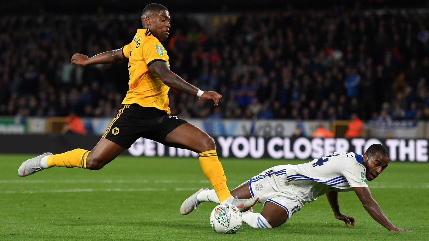 Wolves 0-0 Leicester (1-3 Penalties) | Extended
