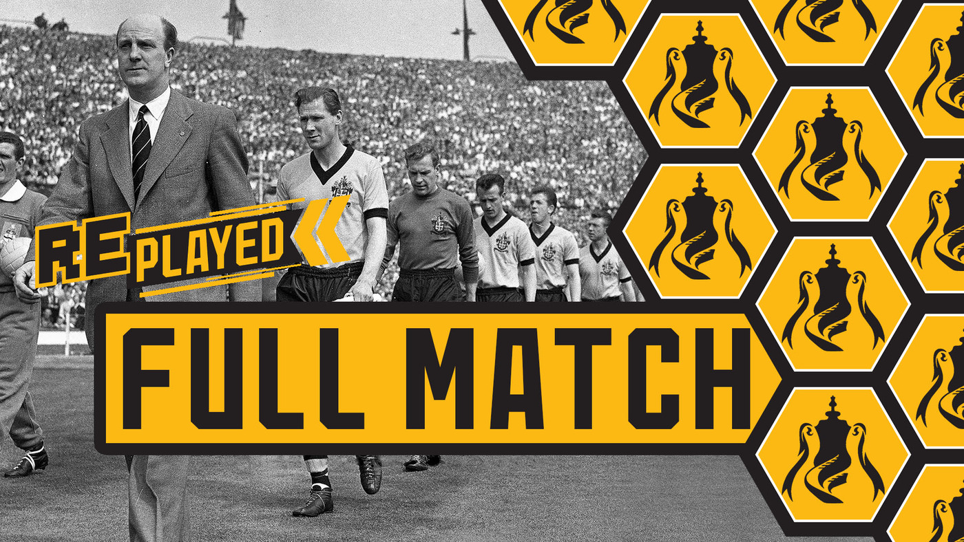 DEELEY AT THE DOUBLE! Wolves 3-0 Blackburn Rovers | 1960 FA Cup final full match replay