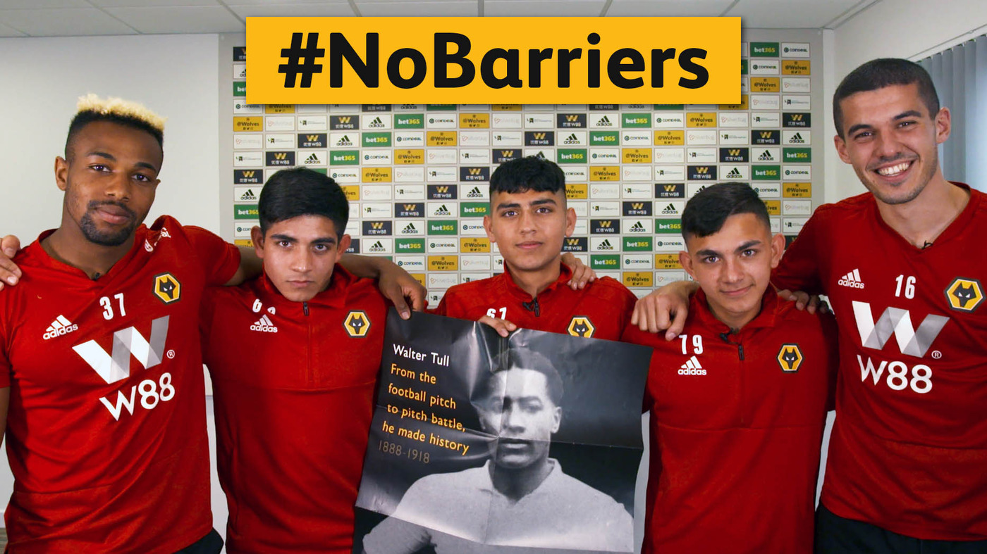 #NoBarriers for Wolverhampton Wanderers