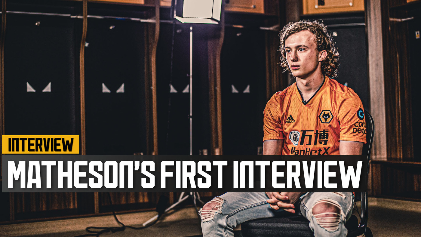 WOLVES SIGN LUKE MATHESON! | 'I can't wait to wear the Wolves badge!'