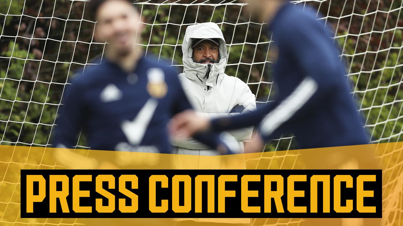 Nuno's pre-Manchester United press conference