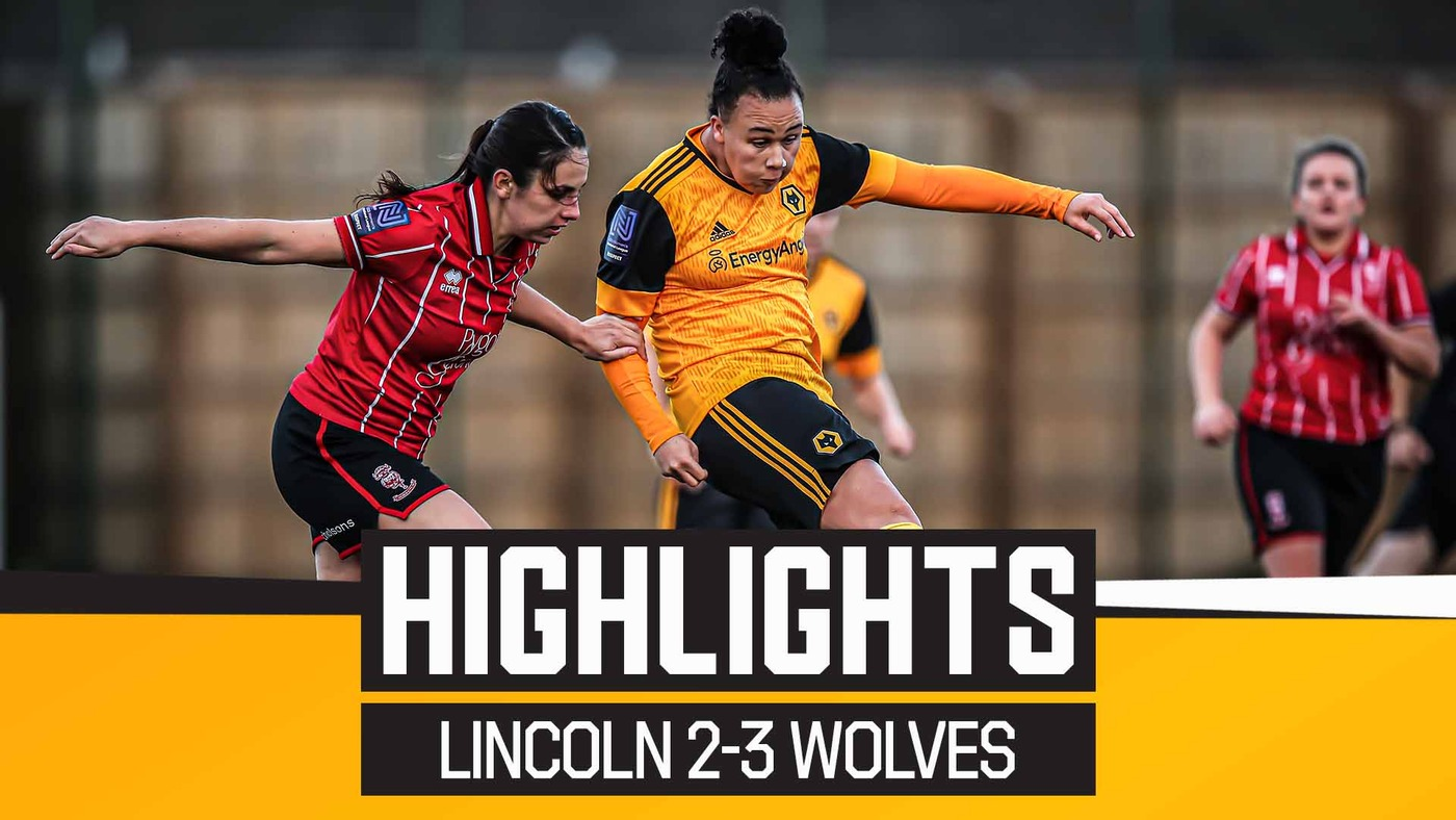 Walker wins it at the death! Lincoln 2-3 Wolves Women | Highlights