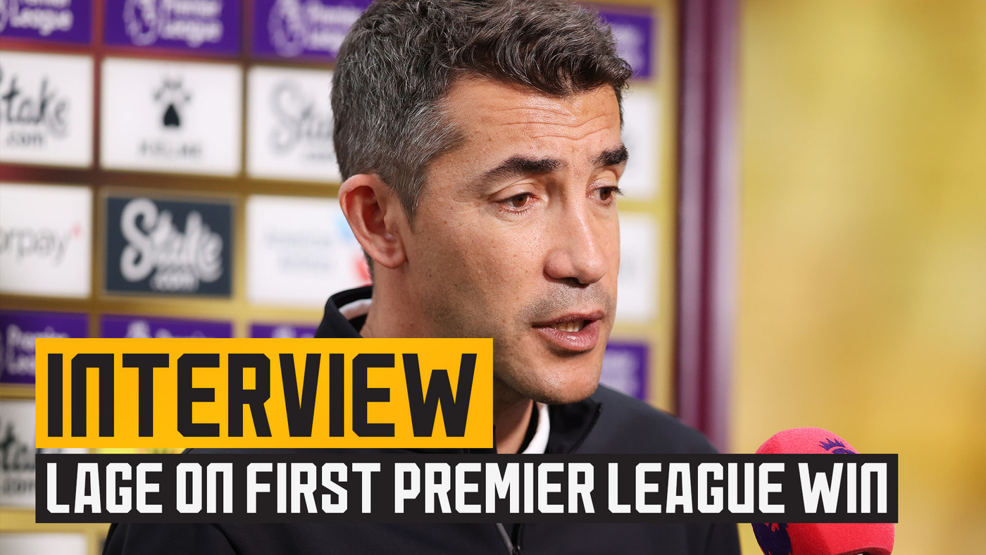 Lage happy with chances created, goals and first Premier League win
