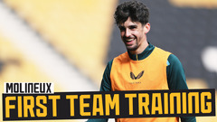 Training at Molineux! | Stadium session ahead of Newcastle