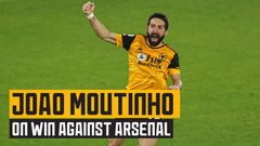 Moutinho on his wondergoal, VAR decisions and a dramatic win over Arsenal