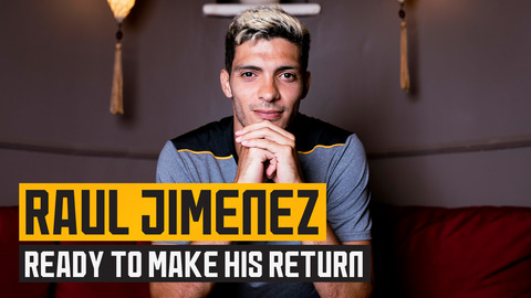 Raul Jimenez on returning for pre-season, Bruno Lage, fans' support and more!