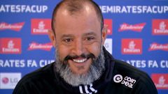 Nuno's pre-Bristol City press conference