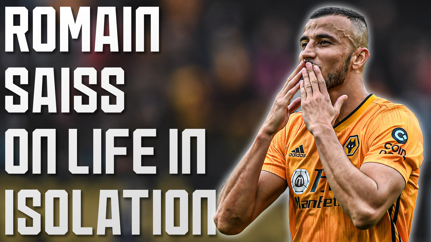 Saiss on more time with the family, practising his cooking and his nickname for Coady!