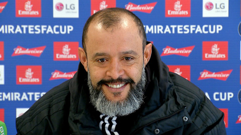 Nuno's pre-Shrewsbury press conference