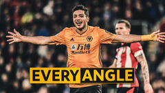 Every Angle | Adama Traore sets up Raul Jimenez's record-breaking goal!
