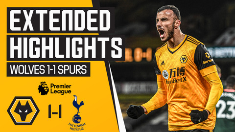 Saiss salvages a point! Wolves 1-1 Tottenham Hotspur | Extended Highlights
