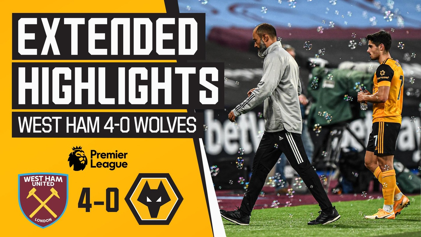 West Ham 4-0 Wolves | Extended Highlights