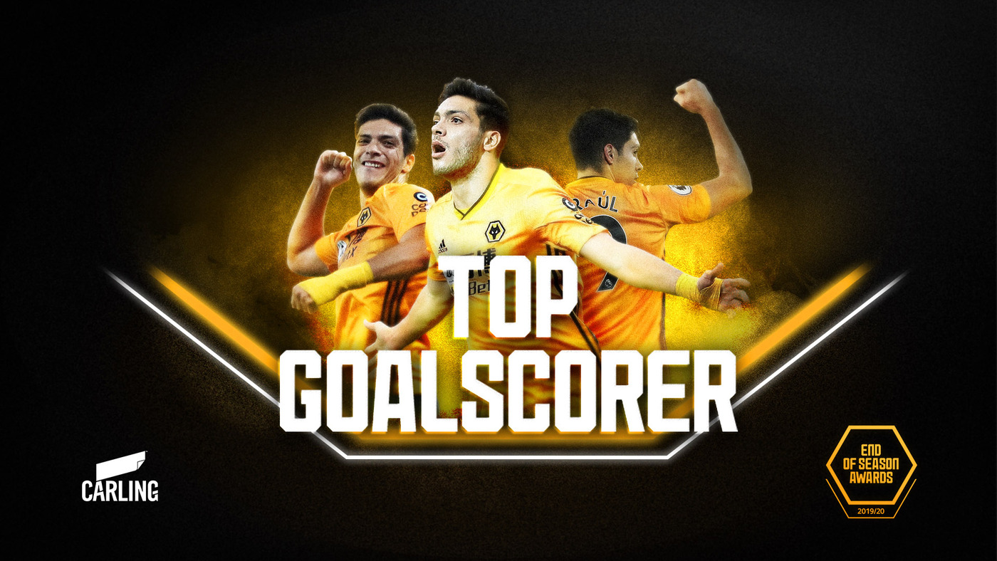 Raul Jimenez talks through his best 2019/20 goals! | Top Goalscorer award