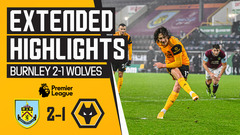 Burnley 1-2 Wolves | Extended Highlights