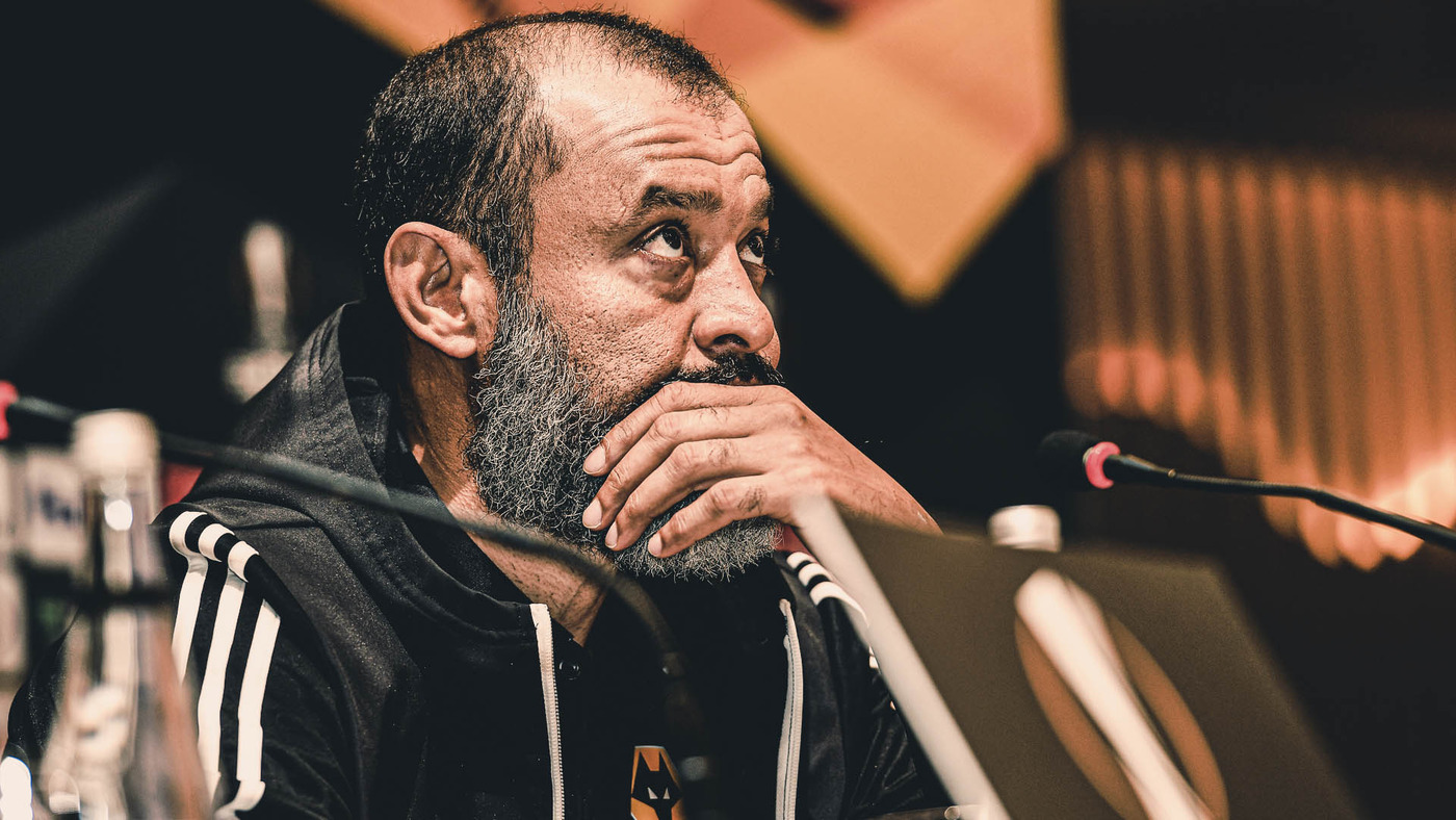 Nuno's pre-Besiktas press conference
