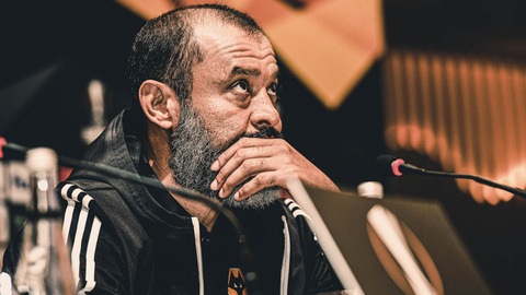 Nuno's pre-Besiktas press conference