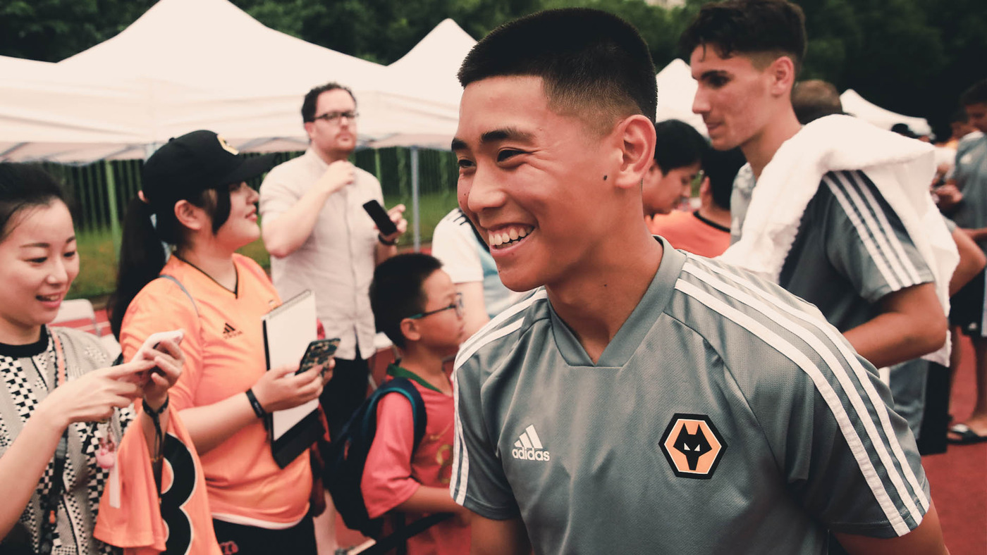 Wan delighted to make his Wolves debut