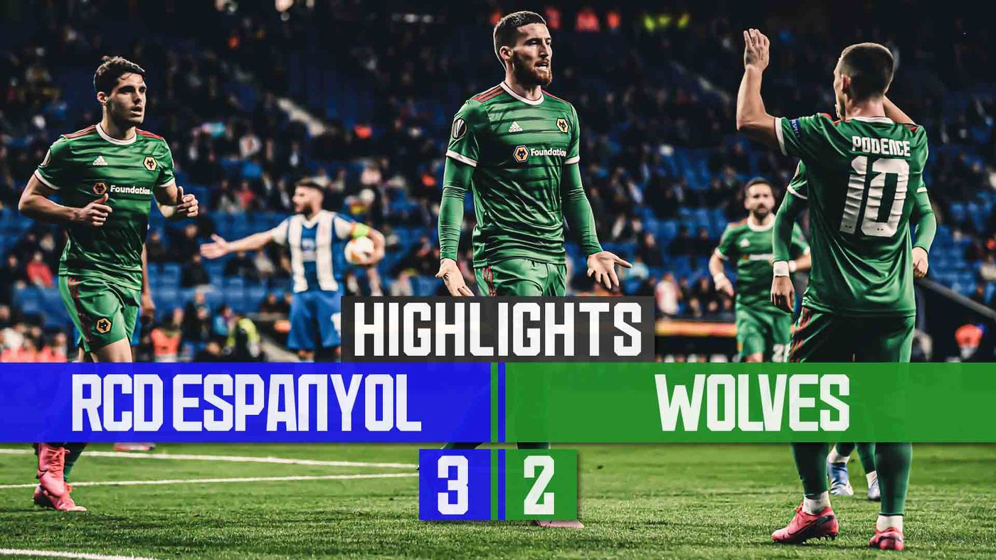 Podence assists two away goals | RCD Espanyol 3-2 Wolves | Extended highlights