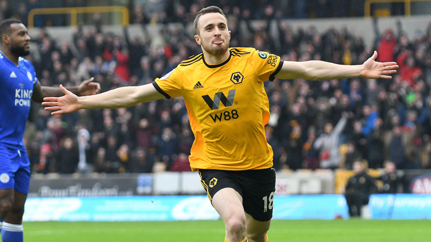 Hat-trick hero Jota on Wolves win over Leicester