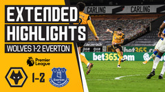 Wolves 1-2 Everton | Extended Highlights