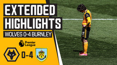 Wolves 0-4 Burnley | Extended Highlights