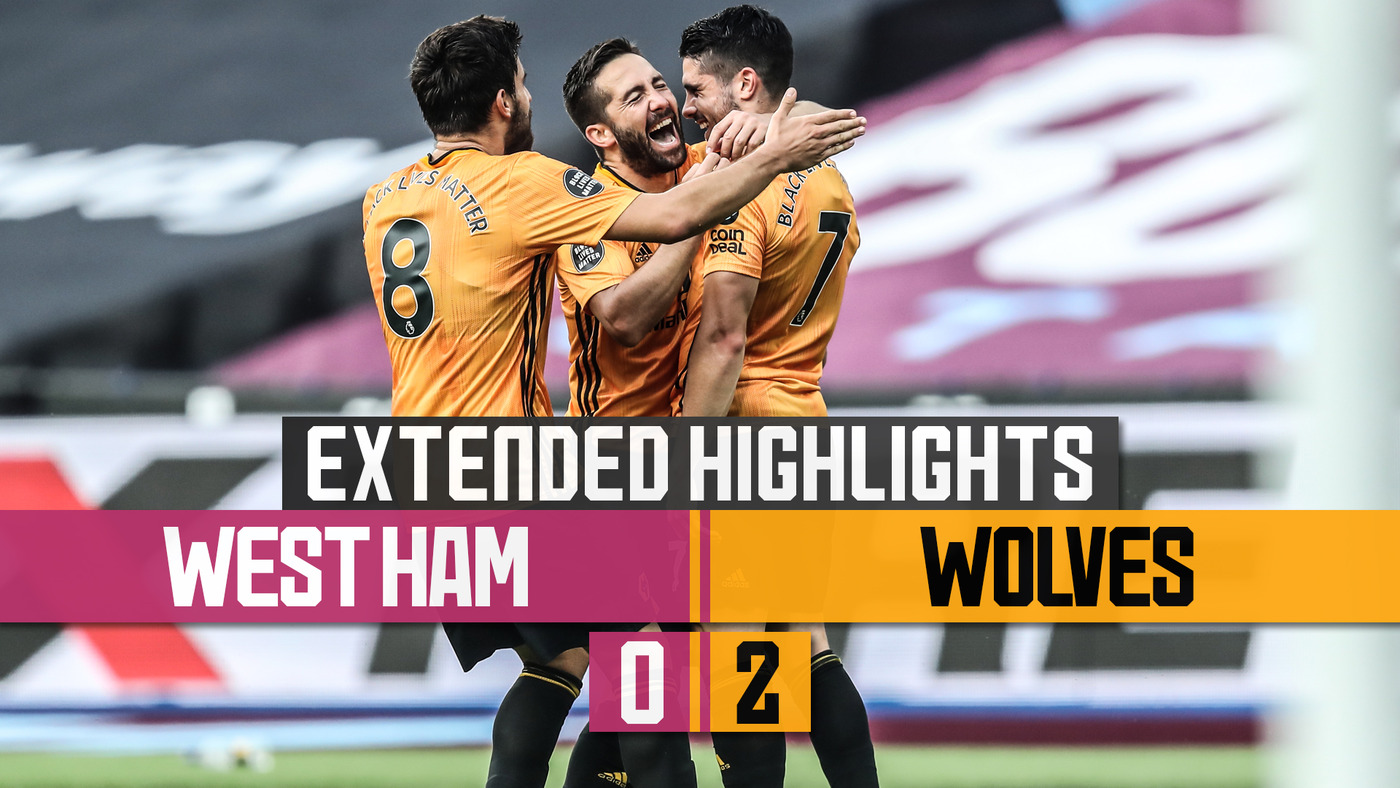 JIMENEZ AND NETO BACK WITH A BANG! West Ham United 0-2 Wolves | Extended Highlights