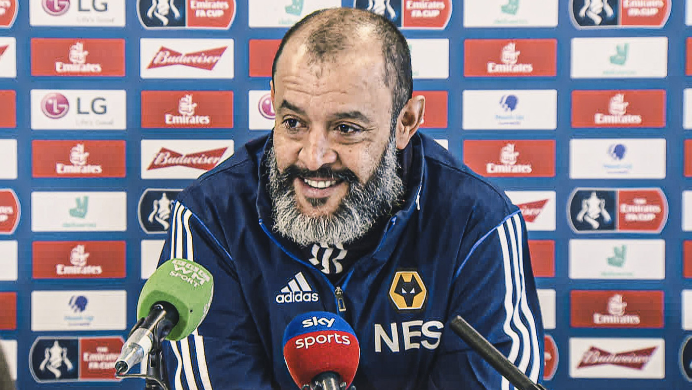 The latest from Nuno on Jota, Boly, Vallejo and Traore ahead of Man United FA Cup clash