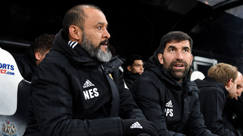 Nuno on the last minute winner at Newcastle