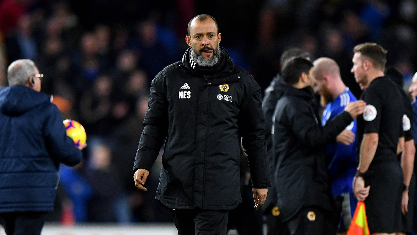 Nuno gives his thoughts on defeat at Cardiff