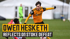 Owen Hesketh on stepping up to the under-23s