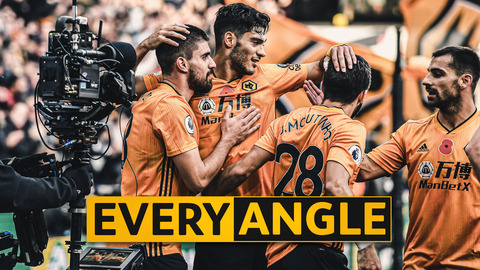Stunning Neves strike v Aston Villa | Every Angle