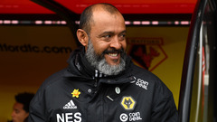 Nuno on the final home game of the season