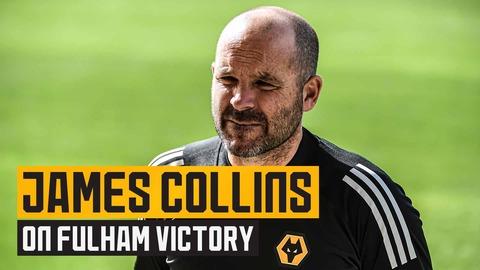 Collins speaks after PL2 victory