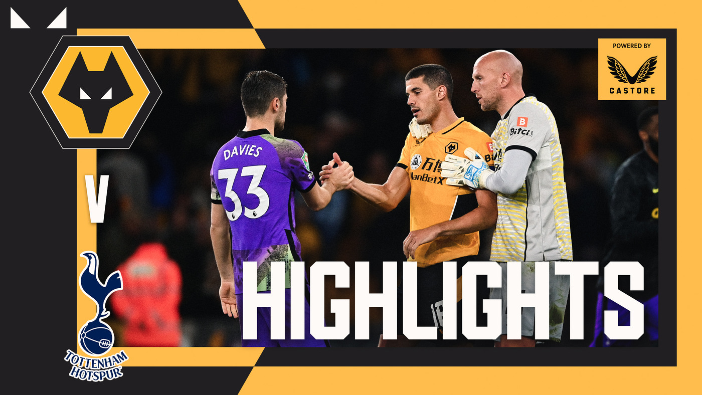 Wolves exit the League Cup on penalties | Wolves 2-2 Tottenham Hotspur (2-3 Pens) | Highlights
