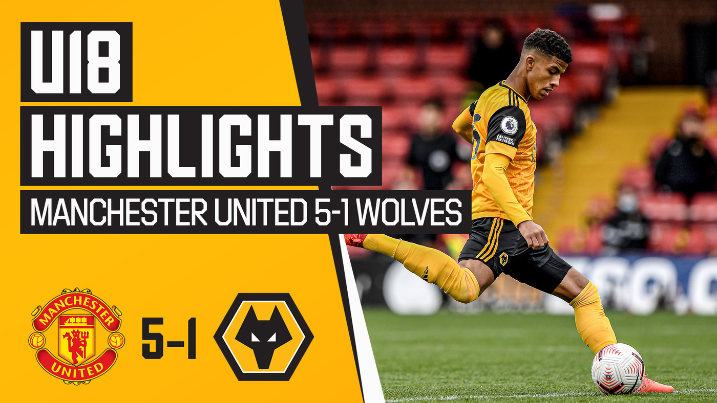 Injury ravaged Wolves fall to defeat | Manchester United 5-1 Wolves | U18 Highlights