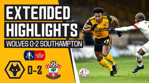 Wolves 0-2 Southampton   Extended Highlights