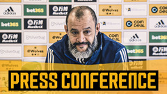 Nuno talks European qualification, missing fans, team news and Podence