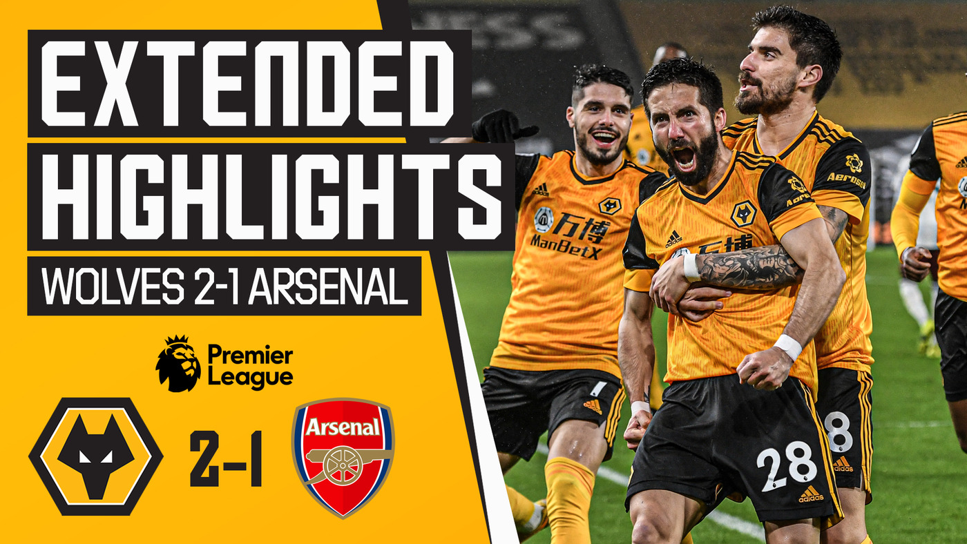 MOUTINHO'S STUNNER WINS IT FOR WOLVES! Wolves 2-1 Arsenal | Extended Highlights