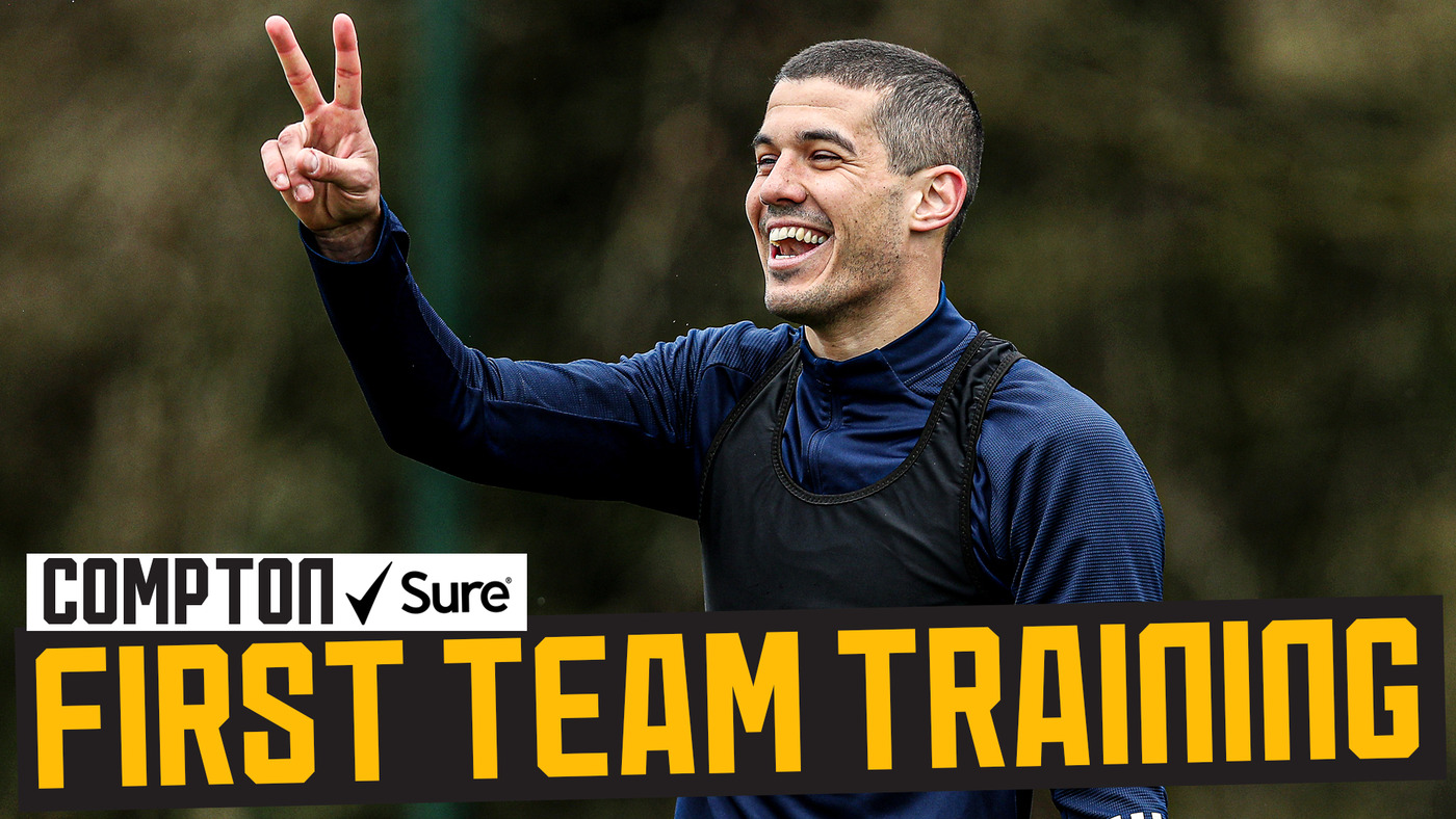 Wolves warm up for Burnley | Behind the scenes of first-team training