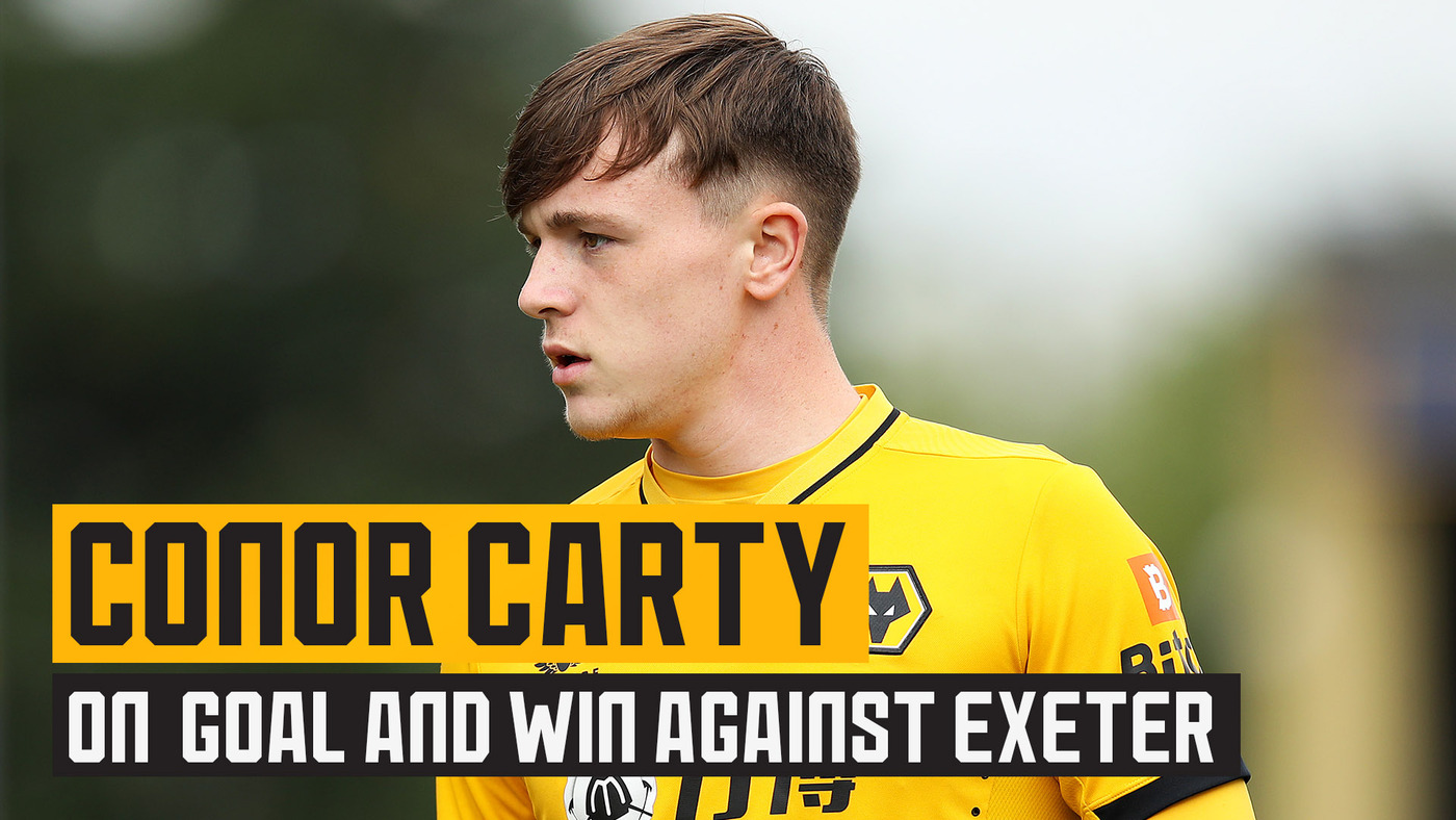 Goalscorer Conor Carty on Exeter victory