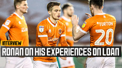 Ronan on his experiences out on loan and winning Loan Player of the Season