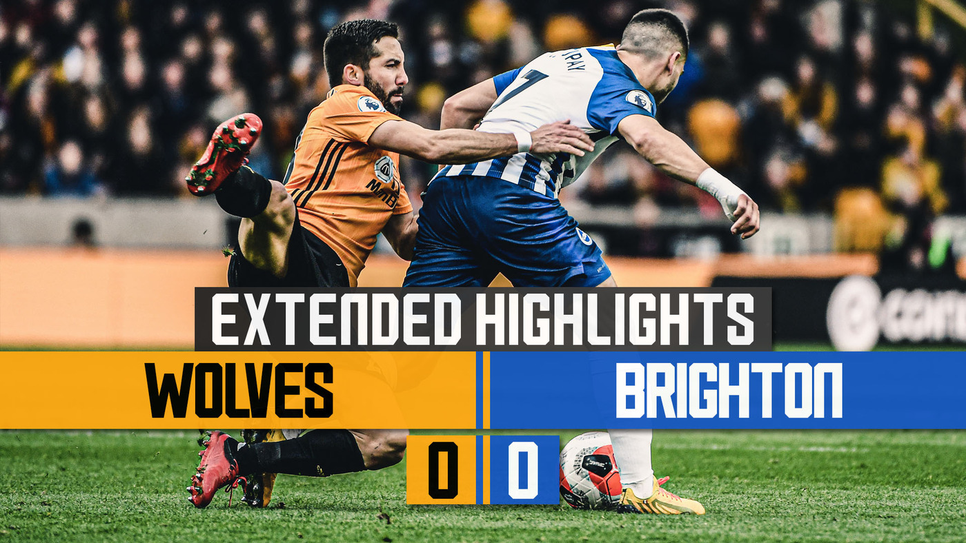 Stalemate with the Seagulls | Wolves 0-0 Brighton & Hove Albion | Extended Highlights